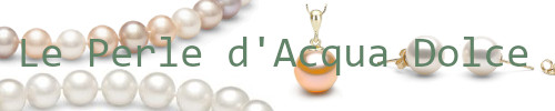 Gioielli di perle d'acqua dolce