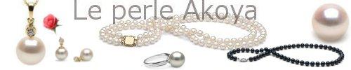 Catalogo di gioielli in perle di coltura AKOYA