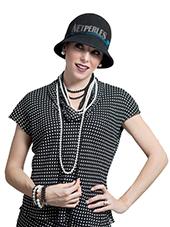 Collana di perle Akoya bianche e nere, possibilità di mescolare i due colori