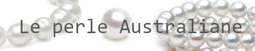 Perle Australiane bianche argentate