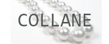 Collane di perle Australiane bianche argentate