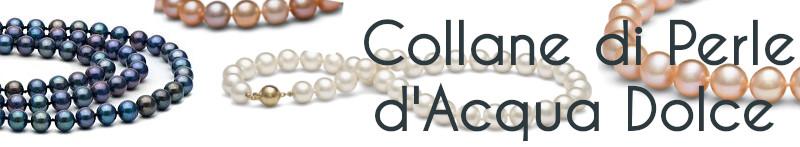 Collane di perle d'acqua dolce