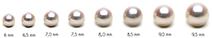 Perle Akoya vendute su netperla.com - da 6,0 a 9,5 mm toutti gli orienti della madreperla