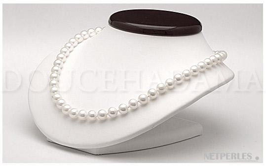 Collana di perle d'acqua dolce della più bella qualità