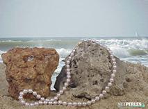 Collana di perle Akoya del Giappone - perle Akoya - collana di perle