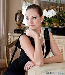 Collana di perle di coltura d'Acqua Dolce - Belle perle d'acqua dolce per dei gioielli duraturi