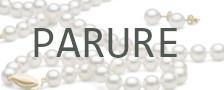 Parure di gioielli in vere perle di coltura d'acqua dolce di qualità DOLCEHADAMA