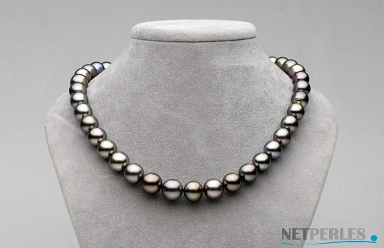 collana di perle di coltura di Tahiti