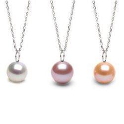 Pendente Mignon in argento con perla di Acqua Dolce DOLCEHADAMA