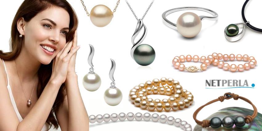 Gioielli di perle di coltura