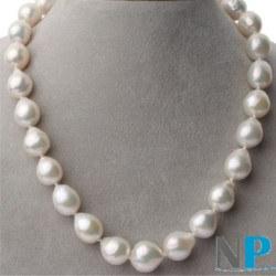 Collana di grandi perle esotiche Fireball d'Acqua dolce 45 cm 12-15 mm