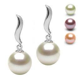 Orecchini in argento con perle di acqua dolce DOLCEHADAMA