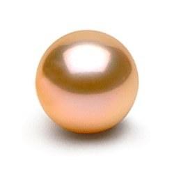 Perla di coltura di Acqua dolce Rosa Pesca 10-11 mm qualità Dolcehadama