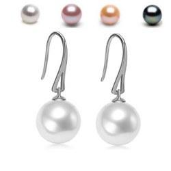 Orecchini Monachelle Oro 18k con perle di Acqua Dolce AAA