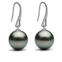 Orecchini Argento e perle di Tahiti a partire da 8-9 mm