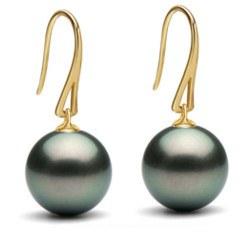 Orecchini Oro 18k e perle di Tahiti a partire da 8-9 mm