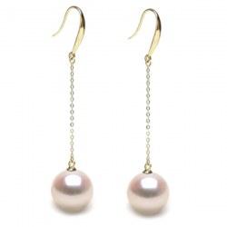 Orecchini in Oro 18k perle di coltura Akoya AAA