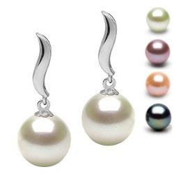 Orecchini in oro18k e perle di Acqua Dolce AAA