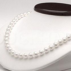 Collana 45 cm perle d'acqua dolce 6-7 mm bianche DOLCEHADAMA