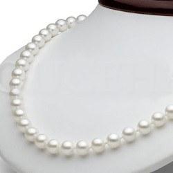 Collana 45 cm perle d'acqua dolce 7-8 mm bianche DOLCEHADAMA