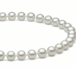 Collana 40 cm perle d'acqua dolce 7-8 mm bianche DOLCEHADAMA