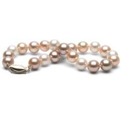 Braccialetto di perle d'acqua dolce 7-8 mm multicolori DOLCEHADAMA