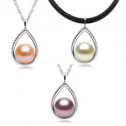 Pendente in argento con perla Acqua Dolce qualità DOLCEHADAMA
