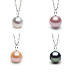 Pendente Mignon in argento con perla di Acqua Dolce AAA