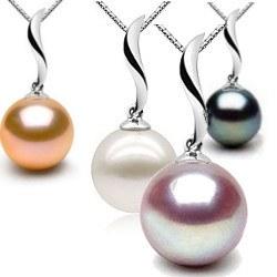 Pendente in Oro 9k con perla di Acqua Dolce AAA