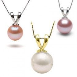 Pendente in oro 18k con perla d'acqua dolce DOLCEHADAMA