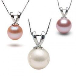 Pendente in Argento 925 con perla di Acqua Dolcehadama
