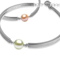 Braccialetto in Argento 925 e perla d'acqua dolce DOLCEHADAMA