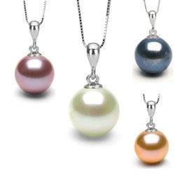 Pendente in argento 925 con perla di Acqua Dolce AAA