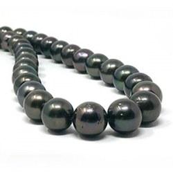 Collana 43/44 cm Perle di Tahiti 10.8-11,87 mm multicolore